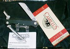 Camillus 695 Rigging Knife Black Handles C-1960's US Naval Issue & New Packaging