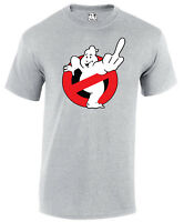 Ghostbusters Finger Bird Parody  funny Tee Tshirt