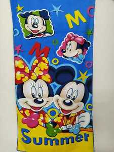 Mickey and Minni Kids Bath Towel Full Cotton Fabric Big Printed Design