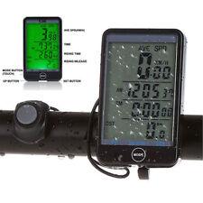 LCD Bike Computer Speed Odometer Waterproof Speedometer Cycle Bicycle SD-576A