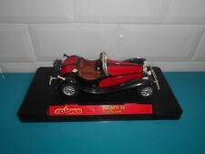 10.05.18.1 Voiture miniature Bugatti 55 de la chapelle rouge Majorette 1/24