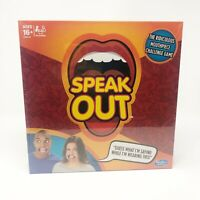 Hasbro Speak Out Board Game Family Ridiculous Mouthpiece Challenge Sealed New