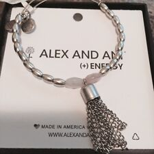 ALEX AND ANI ARTIST'S PALETTE PASTEL BANGLE IN RUSSIAN SILVER NWT 100% AUTHENTIC