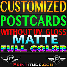 """CUSTOM PRINTED 5000 4X11 EVERY DOOR DIRECT MAIL FULL COLOR MATTE 2 SIDED 4""""X11"""""""