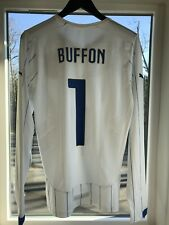 Italy Jersey Authentic Buffon Maglia Trikot Player Issue Juventus Italia World C