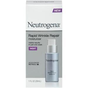 Neutrogena Rapid Wrinkle Repair Night Moisturizer,Brighten Skin Tone 29 ml