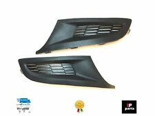NEW VW POLO 6R PAIR FRONT BUMPER LOWER GRILLE COVERS TRIM RIGHT+LEFT 2009 - 2014