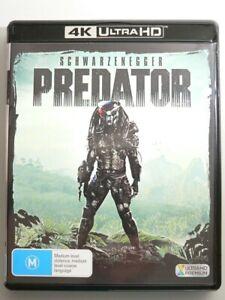 Predator (1987) 4K UHD Blu-ray New not sealed Arnold SCHWARZENEGGER