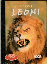 DOCUMENTARIO ANIMALI DVD : IL LEONE serie NATURAL KILLES, DVD ORIGIN COME NUOVO