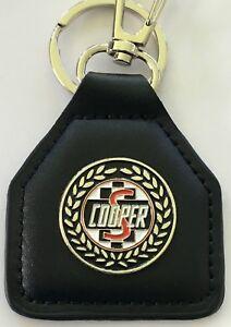Mini Cooper S  --  Genuine  leather key fob.  F030501F