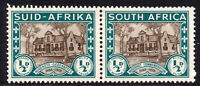 South Africa 1/2d Pair of Stamps c1939 Mounted Mint Hinged (471)