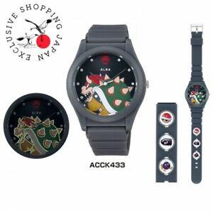 SEIKO ALBA Nintendo Super Mario Bros. Quartz Wristwatch Bowser Edition ACCK4303