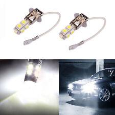 2PCS Xenon White H3 7500k 120LM For Vehicle Car Fog Driving DRL LED Light BULBS