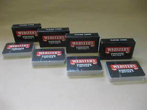 Webster's Yorkshire Bitter~ 4 Sealed Packs of Vintage Advertising Playing Cards