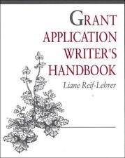 Grant Application Writers Handbook