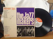 "BACK ROOM JOYS THE JAZZ MAKERS  VINYL LP RECORD 12"""