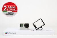 GoPro Hero 4 Silver  + 2 ANNI DI GARANZIA  - 2 YEARS WARRANTY