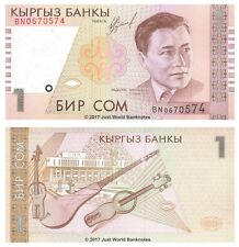 Kyrgyzstan 1 som 1999 P-15 billets UNC