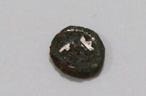 Danish India Colony Trankebar Tranquebar OLD COIN B37 #Z46