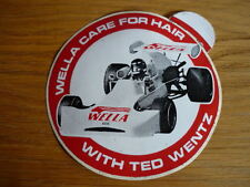 TED WENTZ MARCH (?) STICKER DECAL, OLD STOCK jm