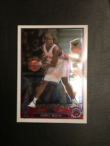 2003-04 Topps Chrome CHRIS BOSH RC Rookie #114 VERY NICE-RAPTORS