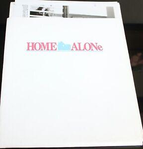 HOME ALONE MACAULAY CULKIN  MOVIE PRESS KIT 6 PHOTOGRAPHS