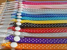 Girls boys baby childs dummy strap clip ribbon mam adapter pink blue Gruffalo