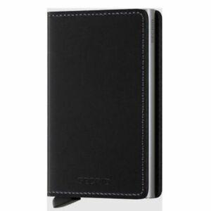 Secrid Slimwallet - Original Black Leather
