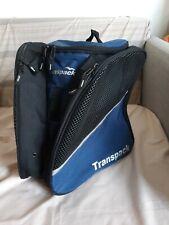 Transpack Jr Ice Skate or Ski boot Snowboard Bag Navy / Black