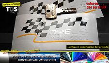 OPEL motor sport pegatina sticker decal aufkleber 3M 50 adesivi autocollant