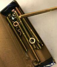 10 x Chemical Studs J-Fix Studs Zinc Plated M10 - 12mm High Tensile Grade 8.8