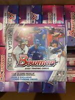 NEW SEALED 2020 Bowman Baseball Target Retail Mega Box ~ Sealed & Ready To Ship