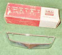 1962 Mercury Monterey Custom S55 Convert NOS FUEL GAS DOOR EMBLEM BEZEL ORNAMENT