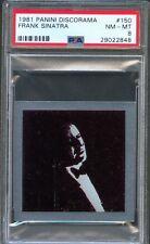 1981 Panini Discorama #150 FRANK SINATRA Trilogy Album STICKER Card PSA 8 Rare!!