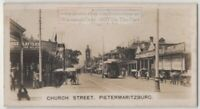 Church Street Pietermaritzburg Natal Province South  Africa 1920s Trade Ad Card