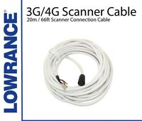 NEW Lowrance 3G/4G Radar Scanner Connection Cable 20m (AA010212) Boat/Marine
