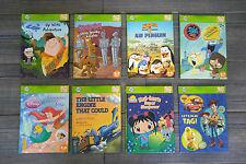 Set of 8 Leap Frog Tag Books - Scooby, Up, Kai-lan, Ariel, Foster's, Madagascar