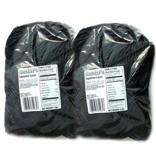 Gustaf's Black Licorice Laces, 4 lbs