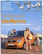 Vauxhall Magazine Summer 2003 UK Market Brochure Meriva Signum