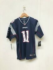 New England Patriots Nike Kid's Home Jersey - 10-12 Years - Edelman 11 - New