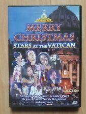 Weihnachts DVD Musik Film Merry Christmas Stars at the Vatican
