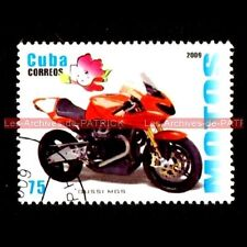 MOTO GUZZI 1200 MGS-01 CORSA 2009 - Moto Timbre Poste Collection Stempel Stamp