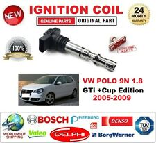 FOR VW POLO 9N 1.8 GTi +Cup Edition 2005-2009 SINGLE IGNITION COIL 4 PIN D-SHAPE