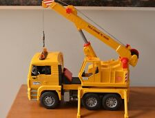 Bruder Tele-Crane TC4500 Crane Toy Truck Construction Vehicle Germany -Complete