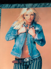 "Sexy Britney Spear 8"" X 10""  Photo Picture On 15"" X 12"" Wood Plaque w/ Name Tag"