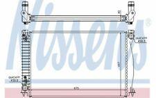NISSENS Radiateur moteur pour AUDI A6 60328 - Pièces Auto Mister Auto