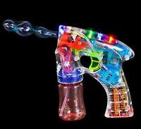 Bubble Blower Machine 1 Light Up Bubble Gun Blaster, -Novelty & Gag Toys,