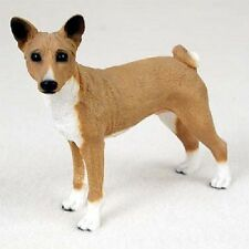 Basenji dog Hand Painted Figurine Resin Statue Collectible puppy New animal