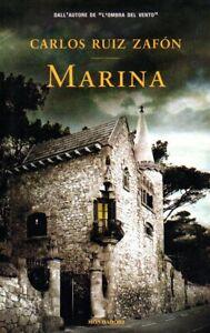 MARINA - Carlos Ruiz Zafon - Mondadori - mistero - narrativa - romanzo - storia