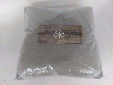 "NEW Light Gray Herringbone Throw Pillow (18""x18"") - The Industrial Shop"